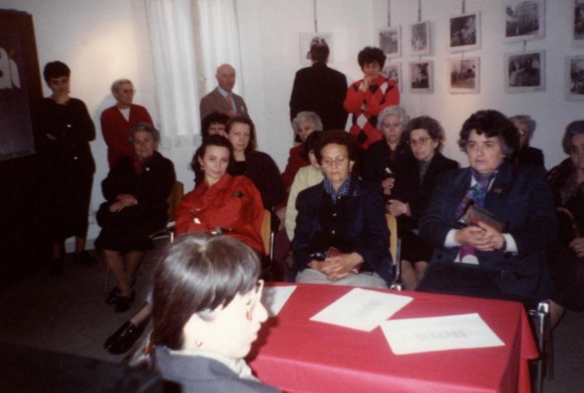 """1 maggio 1992: Inaugurazione mostra """"Una…tante"""""""